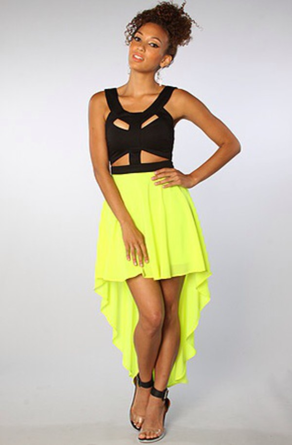 dress cute dress cute ilove hightolow lime where did u get that