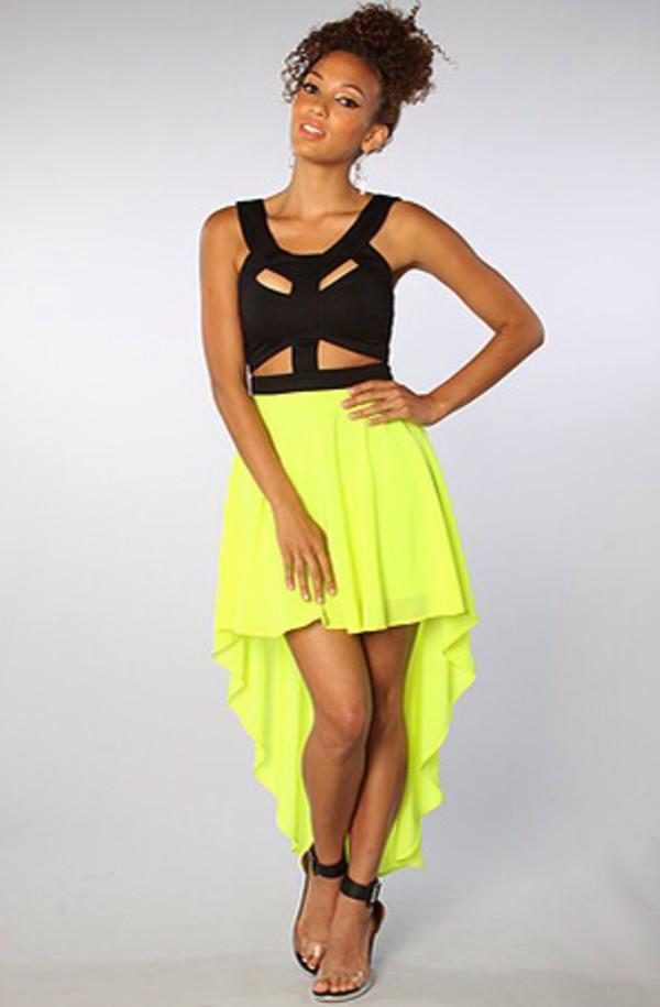 dress cute dress cute ilove hightolow lime where did u get that