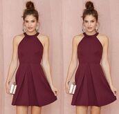 dress,sherri hill bridesmaid dresses,sherri hill burgundy dresses,burgundy sherri hill