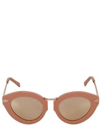 sunglasses rose pink