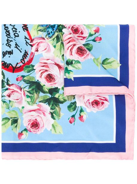 Dolce & Gabbana women scarf print silk