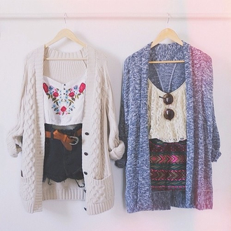 cardigan shirt crop tops embrodering white crop tops blouse summer outfits shorts aztec tank top where floral shirt folk that's chic that shit cray cute blouse white top oversized sweater cozy grey roses cardagian blue brandy melville sweater top t-shirt fashion week blogger