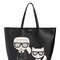 K/ikonik faux leather tote bag