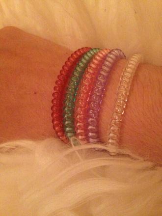 jewels pastel goth pastel bracelets beaded beads bracelet similar look 90s 90's 90s style 90's kid 90sgrunge 90s kid cute colorful bff bestfriend