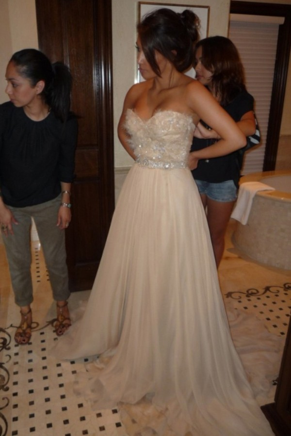 Maxi Dress Kim Kardashian July 2017