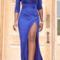 Fashion deep v show body dress