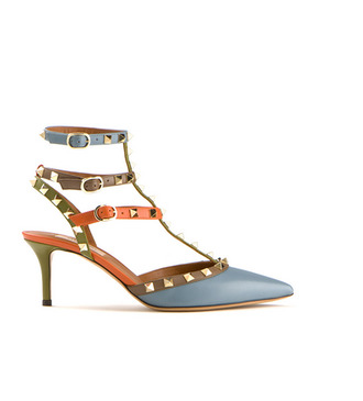 shoes valentino brand rockstud fashion high heels