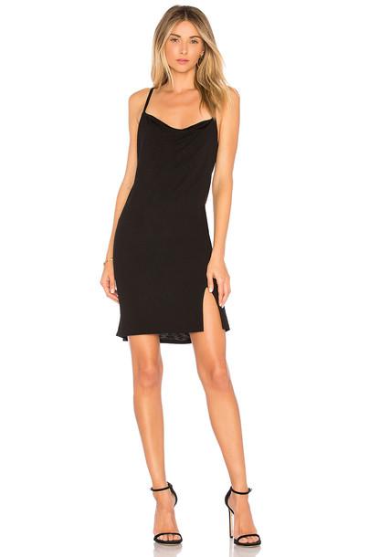 Lanston dress slip dress black
