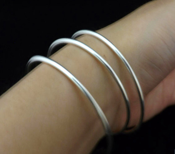 jewels sterling silver solid bracelets