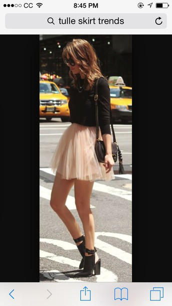 skirt ariana grande trendy trendy tulle skirt new yorker style fashion spring outfits pink dress pink skirt