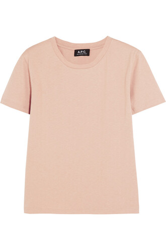 t-shirt shirt cotton t-shirt cotton rose top