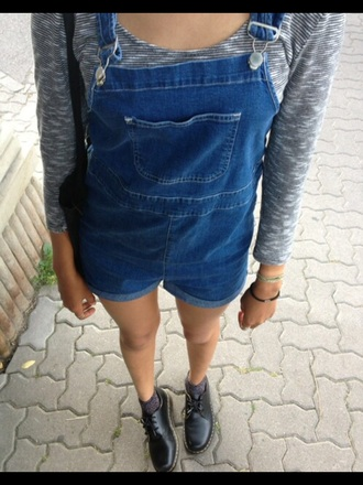 jeans dungarees denim shorts band merch indie hipster women