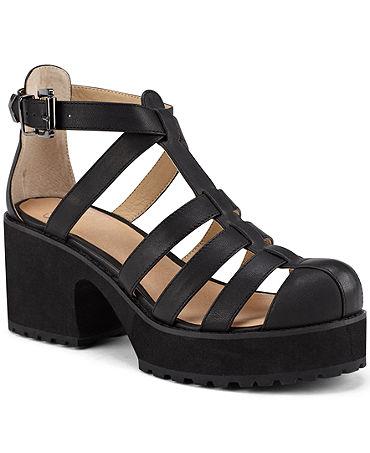 London Kaplow Caged Platform Sandals - Shoes - Macy's