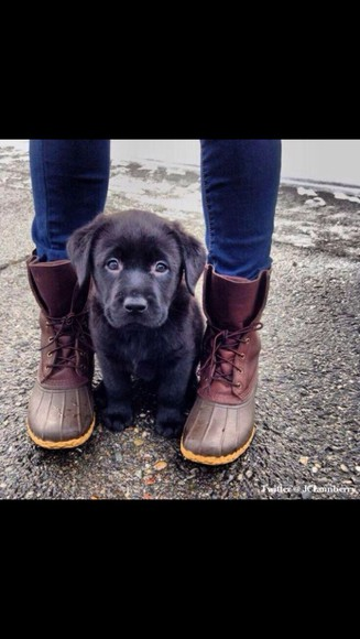boots lace up brown duck boots duck rainboots snow boots rain shoes