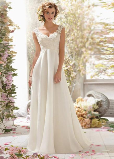 Dress Casamento Wedding Lace Vintage Dresses 2016 Ivory