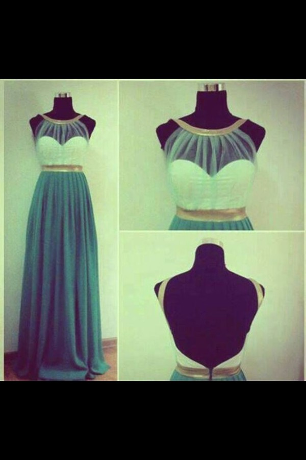 dress maxi ballkleid blue rückenfrei backfree prom dress egyptian turquoise long white transparent evening outfits
