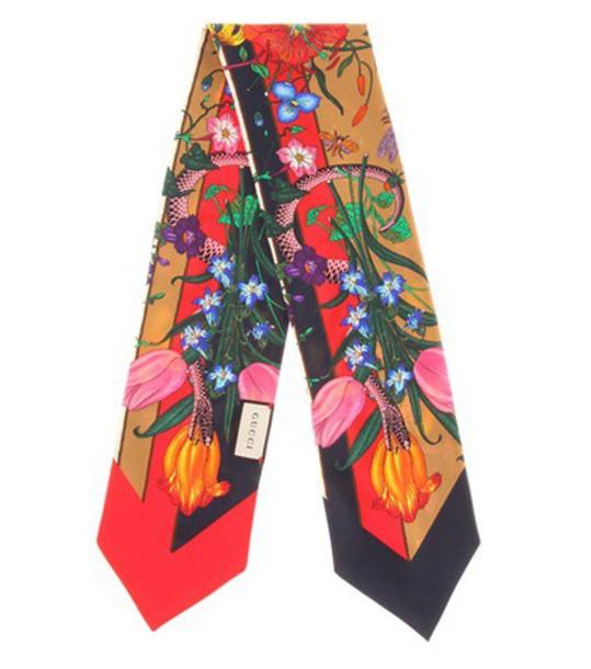 gucci scarf silk scarf silk
