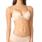 Natori demure unlined front close underwire bra - cosmetic