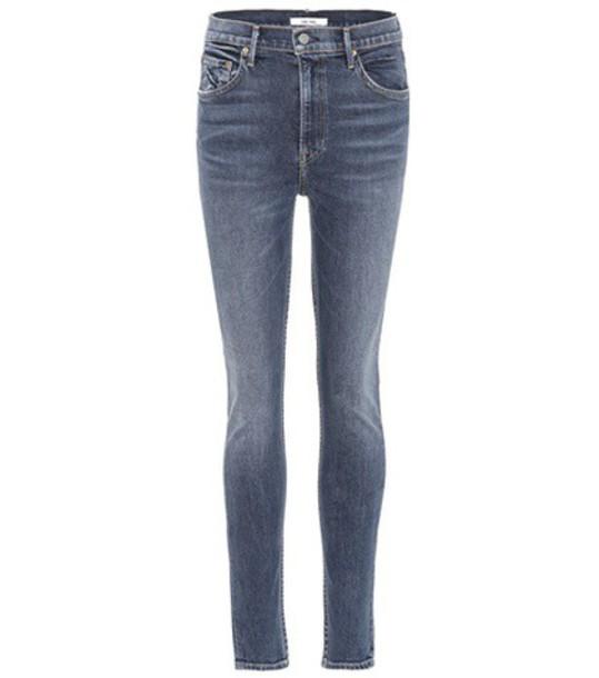 GRLFRND jeans high blue