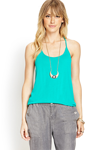 Y-Back Slouchy Cami | FOREVER 21 - 2000067141