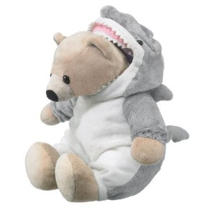 Bear In Shark Costume Wildlife Artists Plush