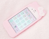 phone cover,pink,pink cat,cats,pastel,hello kitty,kawaii,kawaii accessory,pastel goth,pastel pink,pastel phone case