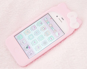 phone cover pink pink cat cats pastel hello kitty kawaii kawaii accessory pastel goth pastel pink pastel phone case