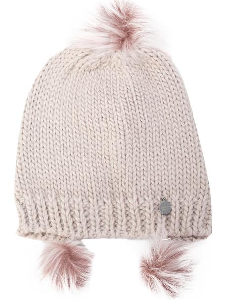 Urbancode women beanie purple pink hat