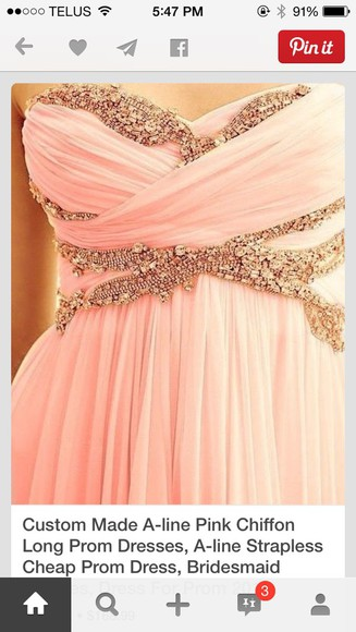 dress prom dress sparkly dress sparkle dress pink dress prom dresses 2014 chiffon dress pretty dress pink