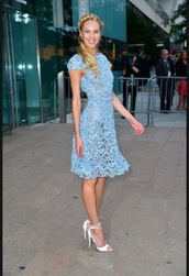 dress,candice swanepoel,blue,pretty,cute,tumblr