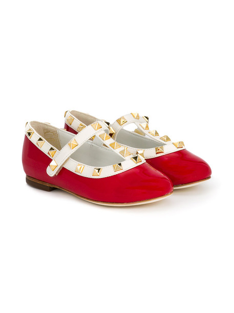 Prosperine Kids leather red shoes