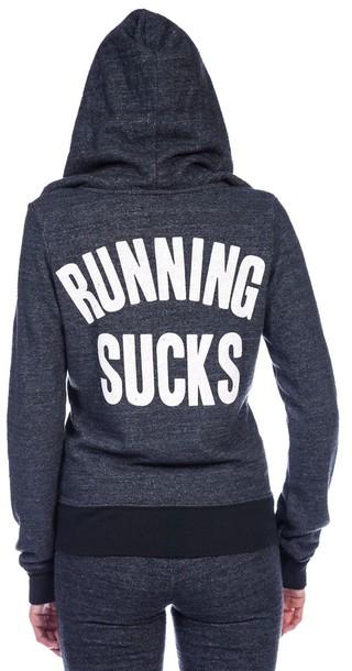 jacket runningsucks sweater
