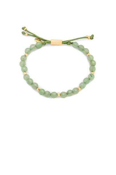 gorjana Power Gemstone Beaded Bracelet in green