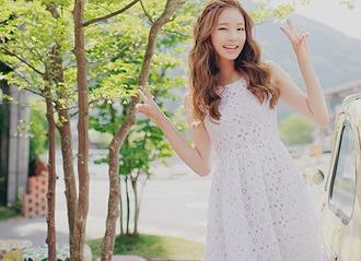 dress white dress kfashion korean lovely