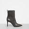 Allsaints us: womens xain heel boot (mink grey)