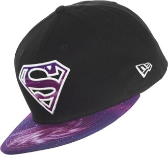 hat cap snapback galaxy superman