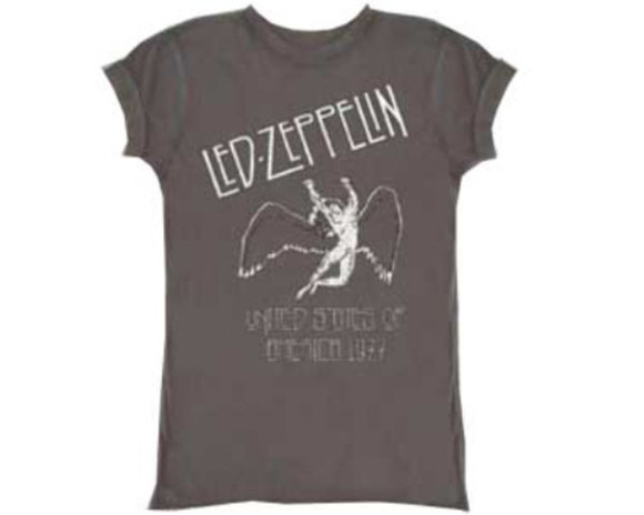 led zeppelin band t-shirt