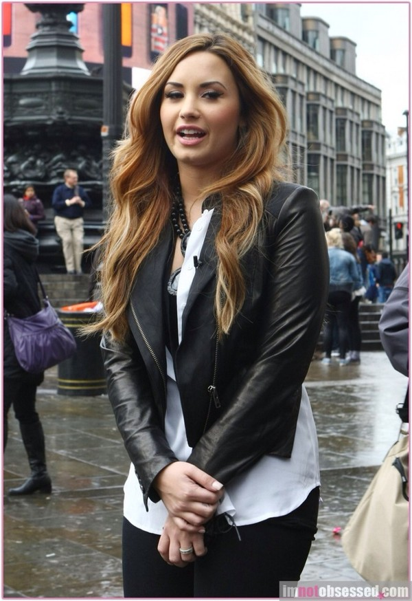 jacket demi lovato leather jacket black black leather jacket