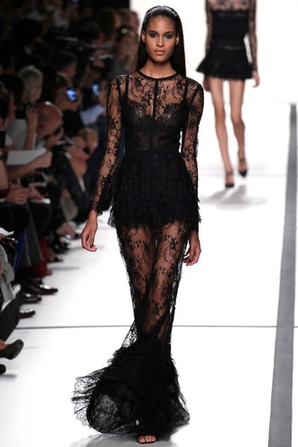 dress little black dress lace dress runway dress runway classy dress
