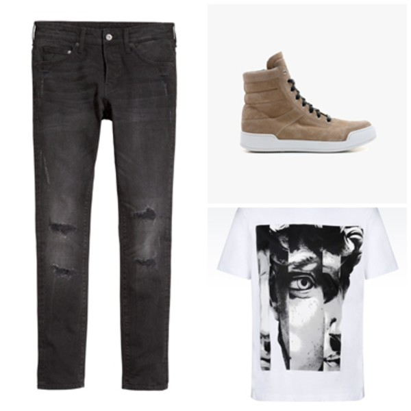 Balmain, Spring/Summer 2015, Men, Sneakers Online Store