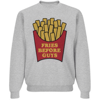 sweater fries before guys shirt top fries guys food socks galentines day