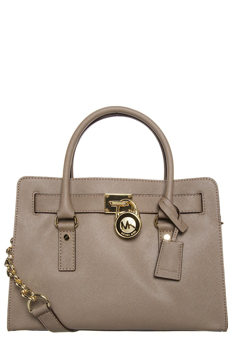MICHAEL Michael Kors HAMILTON - Handbag - brown - Zalando.co.uk