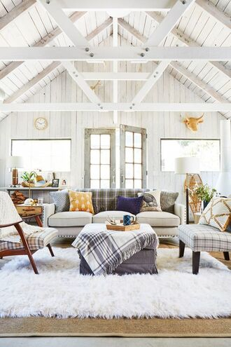 home accessory sofa rug tumblr living room table chair pillow home decor