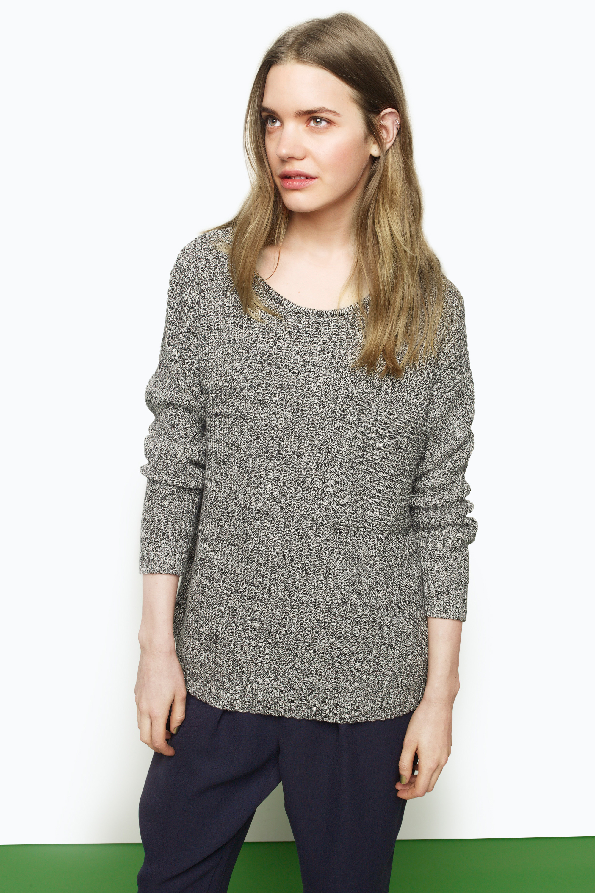 Monki - View All - Annie knitted top