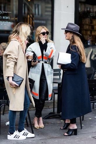 coat grey long coat classy red coat black white