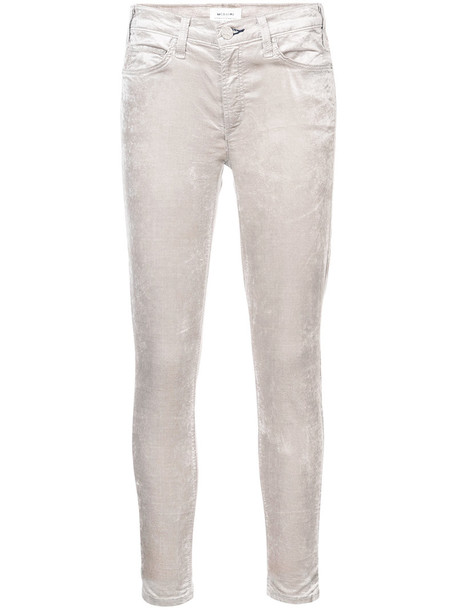 McGuire Denim jeans skinny jeans metallic women spandex nude cotton