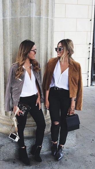 blouse white blouse gold zip tumblr fashion outfit girly white white blouse gold tumblr outfit