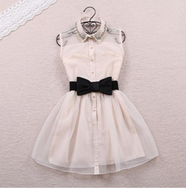 white dress formal dress collared dress dress