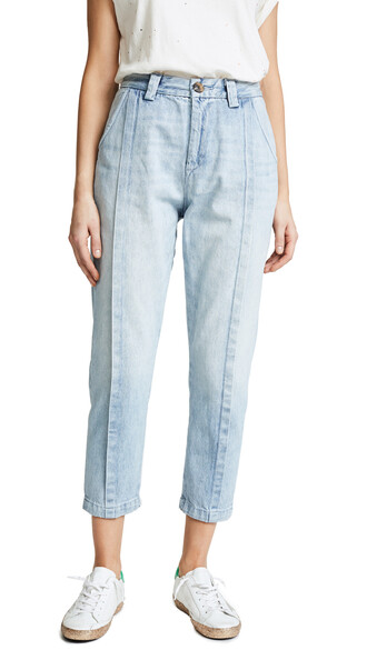 jeans pleated light blue light blue