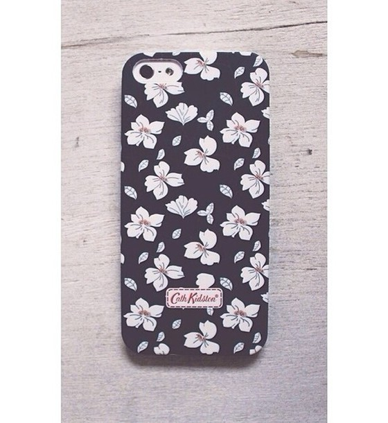 jewels cute daisy daisy phone cover iphone black and white